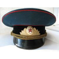 "Фуражка парадная офицера ВС СССР. ""Ладога"", 56 размер."