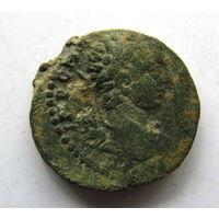 Дупондий провинциальный Рим.плотная античная патина