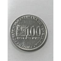 100 боливаров, 2004 г., Венесуэла