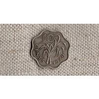 Свазиленд 10 центов 1979 /флора/(JN)