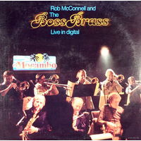 Rob McConnell And The Boss Brass - Live In Digital - LP - 1981