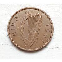 Ирландия 1 пенни, 1963 4-3-13
