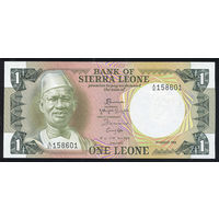 SIERRA LEONE/Сьерра-Леоне_1 Leone_04.08.1984_Pick#5.e_UNC