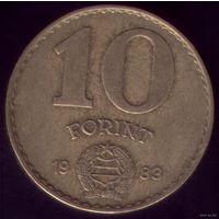 10 Форинтов 1983 год Венгрия