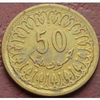4005:  50 миллимов 1960 Тунис