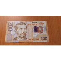 Албания 200 лек 2017 полимер