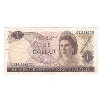 Новая Зеландия 1 доллар образца 1967 года. Редкая!