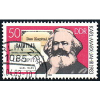 126: Германия (ГДР), почтовая марка, 1983 год