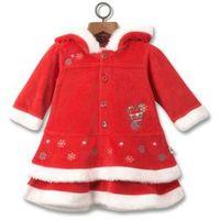 Платье велюровое Adams Baby 'Miss Santa' на малышку, р.56-62