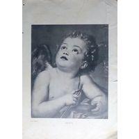 АМУРЪ.  А.Р. Менгсъ. хромолитография 19-20в.   29.5х21см.