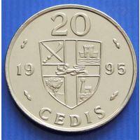 Гана. 20 седи 1995 год KM#30