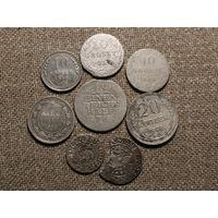 Лот серебряных монет (2)