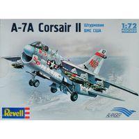 """Сборная модель самолёта 1/72 """"A-7A Corsair II штурмовик ВМС США"""""""