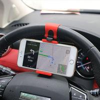 Держатель автомобильный на руль для iPhone 8, 7 7Plus, 6, 6s, Samsung, Xiaomi ,Huawei, GPS.