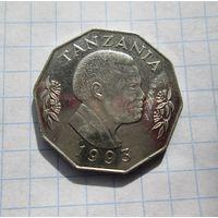 Танзания 5 шилингов 1993г