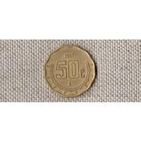 Мексика  50 сентаво 2007 / (F)