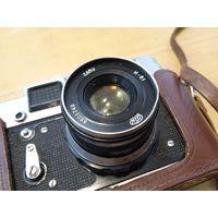 """Объектив И-61 52 mm f/ 2.8, фотоаппарат """"ФЭД-4"""""""
