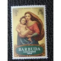 Барбуда 1969г. Рождество.