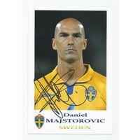 Daniel Majstorovic(Швеция). Фотография с живым автографом #2