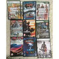 Игра компьютерная, 10 разных игр на дисках. Одним лотом