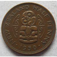 Новая Зеландия 1/2 пенни 1956 - состояние!