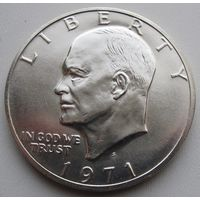 США, доллар, 1971, серебро