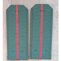 Погоны(цвет зелёный)-РБ-12.5 см.