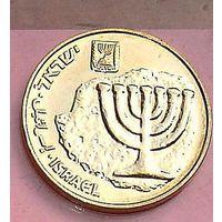 10 агора агорот 2014 менора унк Палестина Израиль