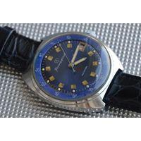 """Часы Восток """"Командирские"""" 2234, Заказ МО СССР, синие, стоп-секунда."""