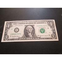 1 доллар США 1999 г., C 89591727 D, AU