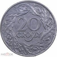 Польша 20 грош 1923