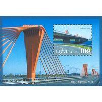 Латвия\61\ - 2002-2009 Мосты -8шт блоков MNH