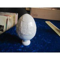 Пасхальное яйцо Москва, фарфор, 12 см.