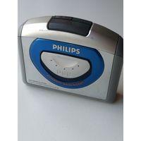 Кассетный магнитофон плеер Филлипс.Рабочий