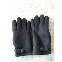 Теплые мужские перчатки