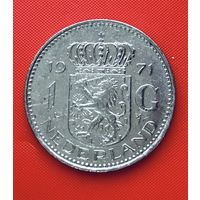 20-24 Нидерланды, 1 гульден 1971 г.