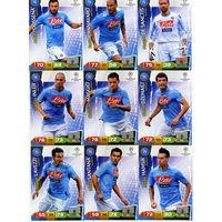 Коллекция PANINI Лига Чемпионов УЕФА 2011-2012. Adrenalyn XL // Napoli // Santana
