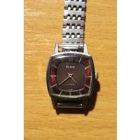 Механические часы СССР, Слава, 17 камней, рабочие, дефект ремешка.