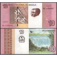 Ангола. 10 кванза 2012. [UNC]