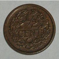 Нидерланды,  1/2 Центa 1914 (106)