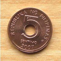 ФИЛИППИНЫ,5сентимо2007г. KM# 268