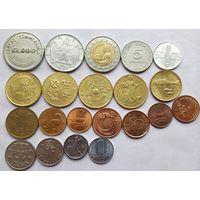 Монеты Европы с юбилейными Италии.
