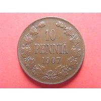 10 пенни 1907 медь