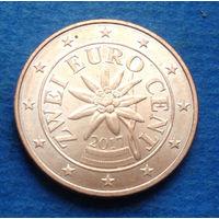 Австрия 2 евроцента 2017