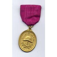 Медаль 40 лет выслуги пожарника 1928-1936 гг. Бавария