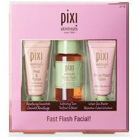 Pixi Beauty набор средств для лица Fast Flash Facial пилинг тоник бальзам