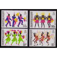 1983 Монтсеррат 526-529 Рождество / Карнавал