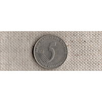Эквадор 5 сентаво 2000(Qu)