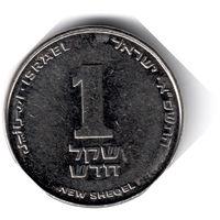 Израиль. 1 новый шекель. 2001 г. (Магнит)