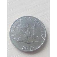 Филиппины 1писо 2007г.